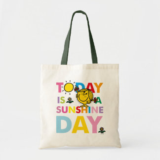 Little Miss Sunshine | Today is a Sunshine Day Tote Bag