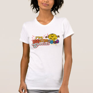 Little Miss Sunshine With Easter Eggs T-Shirt