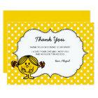 Little Miss Sunshine | Yellow Birthday Thank You Card
