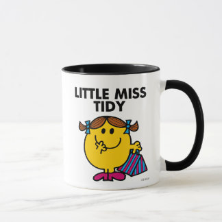 Little Miss Tidy | Black Lettering Mug