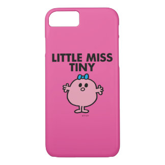 Little Miss Tiny | Black Lettering iPhone 8/7 Case