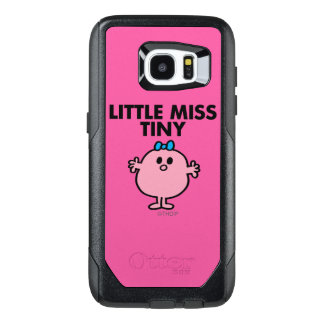 Little Miss Tiny | Black Lettering OtterBox Samsung Galaxy S7 Edge Case