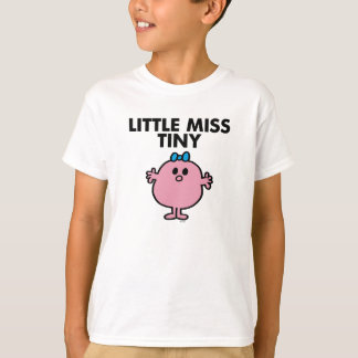 Little Miss Tiny | Black Lettering T-Shirt