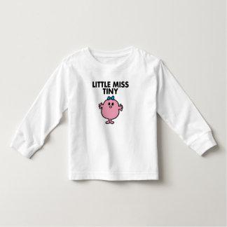 Little Miss Tiny | Black Lettering Toddler T-Shirt