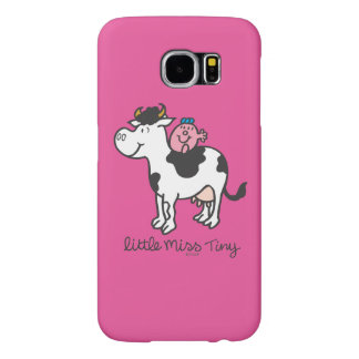 Little Miss Tiny | Cow Riding Samsung Galaxy S6 Cases
