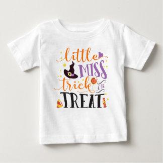 little miss trick or treat cute halloween baby T-Shirt
