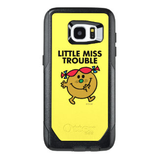 Little Miss Trouble | Black Lettering OtterBox Samsung Galaxy S7 Edge Case