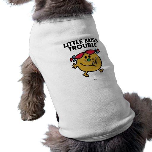 Little Miss Trouble Classic 2 Pet Tee