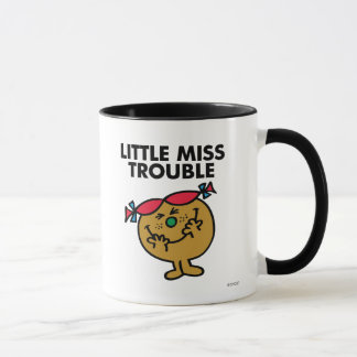 Little Miss Trouble   Laughing Mug