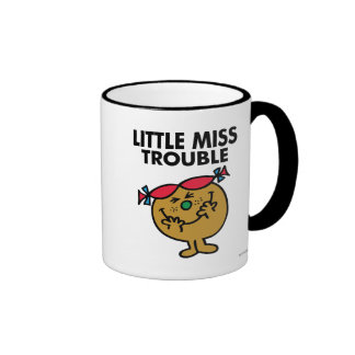Little Miss Trouble | Laughing Ringer Mug