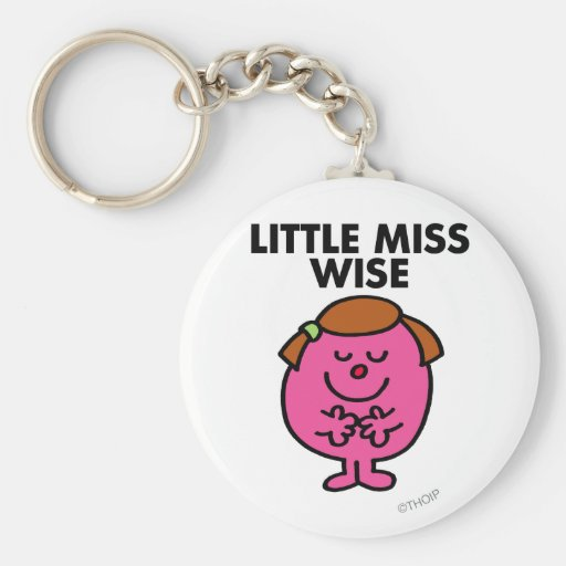 Little Miss Wise Classic Key Chain