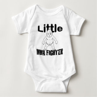 Little MMA Fighter Martial Arts Baby Baby Bodysuit