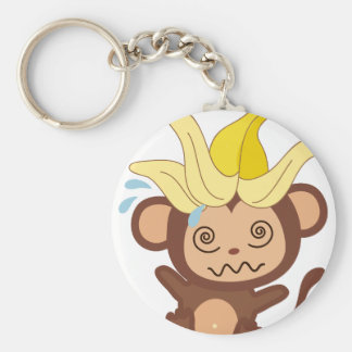 Little Monkey Collection 122 Basic Round Button Key Ring