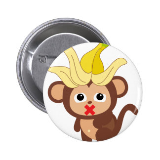 Little Monkey Collection 123 6 Cm Round Badge