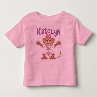 Little Monkey Katelyn Toddler T-Shirt