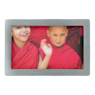 Little Monks in Red Robes Belt Buckles