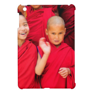 Little Monks in Red Robes iPad Mini Covers