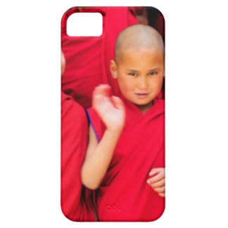 Little Monks in Red Robes iPhone 5 Cover