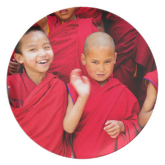 Little Monks in Red Robes Plate
