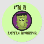 Little Monster Halloween Tshirts and gifts Sticker