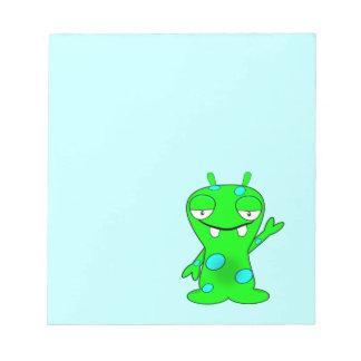 Little  Monster Notepad