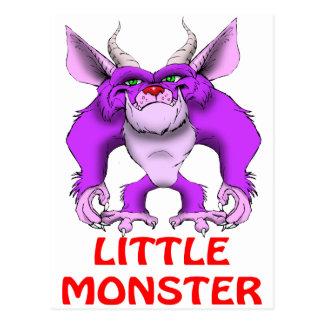 little monster postcard