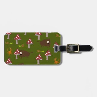 Little monsters luggage tag