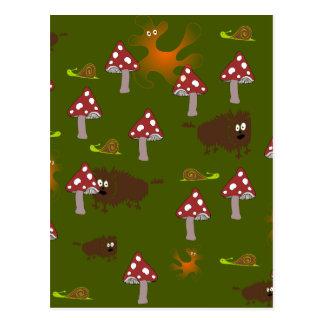 Little monsters postcard