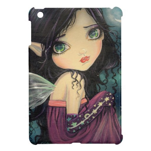 Little Moon Big-Eye Fairy Fantasy Art Case For The iPad Mini