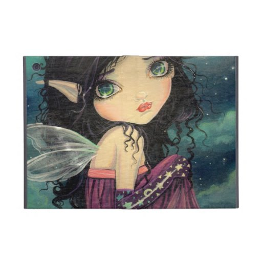 Little Moon Gothic Big-Eye Fairy Art Cases For iPad Mini