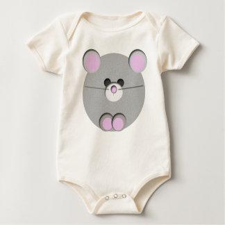 Little Mouse Baby Bodysuit
