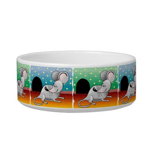 Little Mouse Cat Dish Cat Bowls