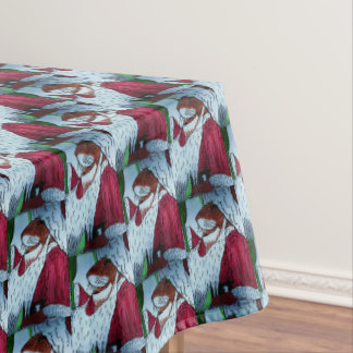 LITTLE MOUSE SANTA CLAUS table cloth