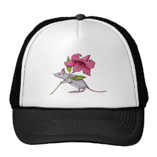 Little Mouse With Big Flower: Lily, Art Hat