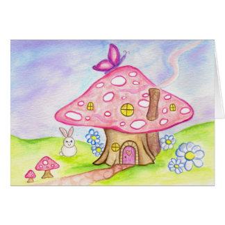 Little Mushroom house Cards