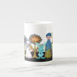 Little Mustard Seed & Friends bone China mug