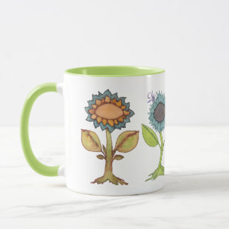Little Mustard Seed, Three Flower Friends & Bunny Mug