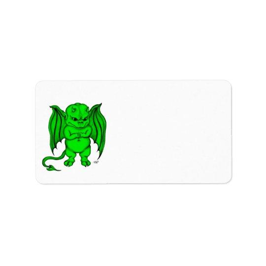 Little nasty Devil Address Label