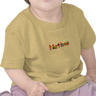 Little Nathan short sleeve yellow t-shirt