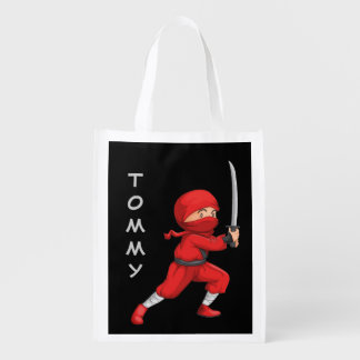 Little Ninja Design Reusable Tote