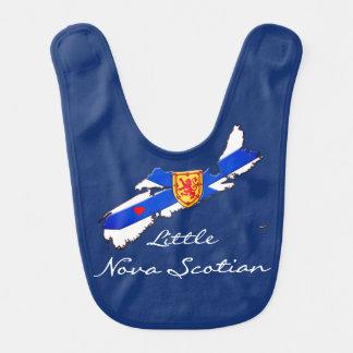 Little Nova Scotian Love Nova Scotia  baby bib