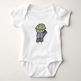 Little One architect baby bodysuit