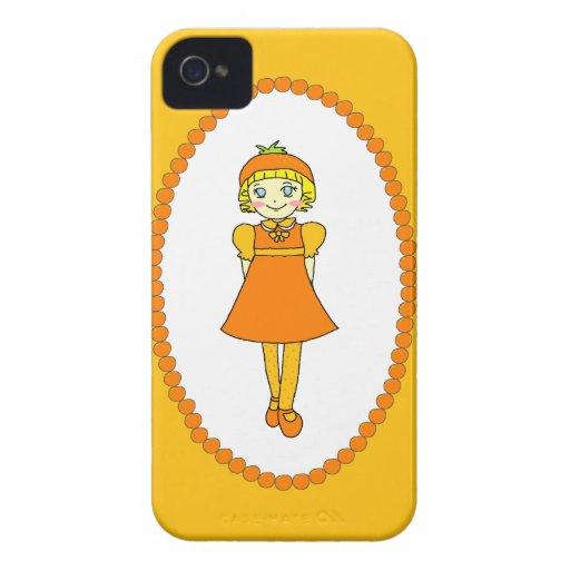 Little Orange Fruit Girl Blackberry Bold Covers