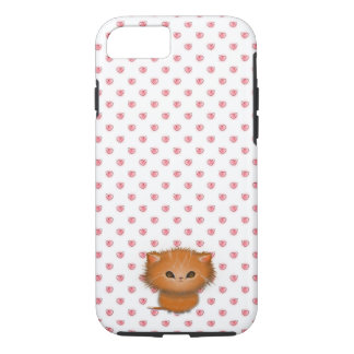 Little Orange Tabby Cat Kitten Illustration iPhone 7 Case