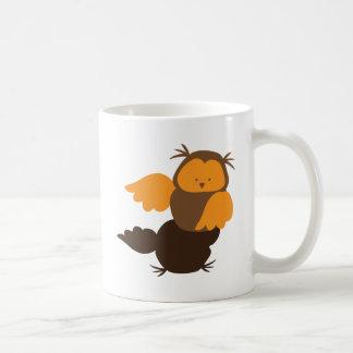 Little Owl cutie Showoff Basic White Mug