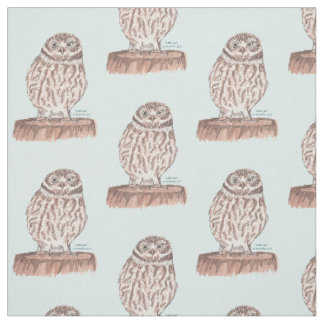 Little Owl fabric