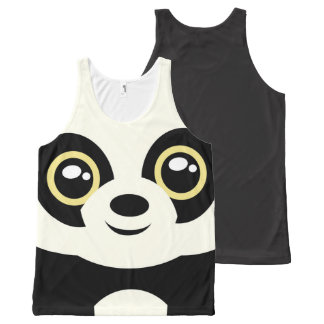 Little panda All-Over print singlet