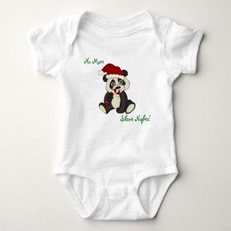 Little Panda Bear Christmas Baby Bodysuit