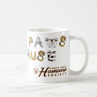 Little Paws, Big Cause Basic White Mug