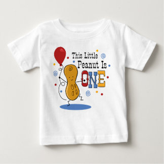 Little Peanut 1st Birthday Baby T-Shirt